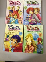Disney W.I.T.C.H. Novels Books 1-4 Kids Tween Lit (b24f) - $13.98
