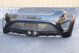 2013-15 Hyundai Veloster Turbo Rear Bumper Cover W/O Park Assist *LOCAL PICK UP image 5