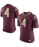 NIKE FLORIDA STATE SEMINOLE FSU #4 FOOTBALL JERSEY SIZE S NEW WITH TAGS $90 - $39.55