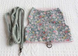Cat harness vest and leash - Clorhes for cat - $25.00