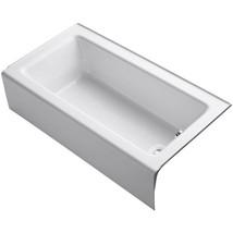 KOHLER Alcove Bathtub 5 ft. Slip-Resistant Left Drain Rectangular White - $951.88