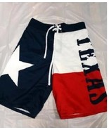 TEXAS FLAG PATRIOTIC ALAMO LONE STAR GUNS BOARD SHORTS SWIM TRUNKS S-2XL - $24.95