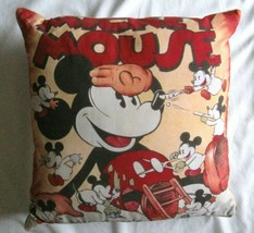 Mickey's Nightmare Disney Direct Pillow 17 x 17 - $27.23