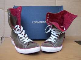 Converse All Star High Top Fold Down Size 6M Worn Once w/Box - $44.99
