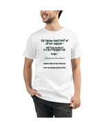 Unisex Organic T-Shirt Vegan Eco Friendly Sustainable Carbon Footprint M... - $31.68+