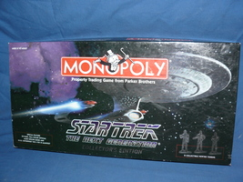 1998 Limited Edition Star Trek Next Generation Monoploy Game Set - $65.00