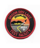 ID4 Movie Area 51 Groom Lake Logo Embroidered Patch NEW UNUSED - $7.84