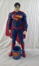 "2014 DC COMICS Superman Man Of Steel 20"" Action Figure Jakks Pacific Cof... - €26,26 EUR"
