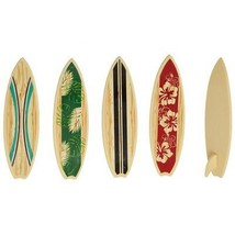 Surfboard Cake Decorations or Cupcake Toppers - 24 pcs - $7.87