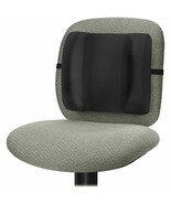 "Fellowes Padded Backrest High Profile 13""x4""x12"" Black 91905 - $19.85"