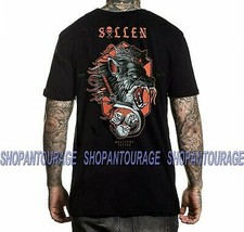 Sullen Snarl SCM3111 New Short Sleeve Graphic Tattoo Skull T-shirt For Men - $26.48+