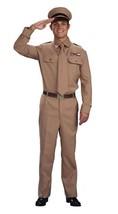 WW2 ARMY GENERAL, FANCY DRESS COSTUME, WAR TIME, WORLD WAR #US - $59.95
