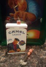 """Lighter Camel Joe's Place """"EDDIE"""" (1994) metal-match refillable collectable - $12.71"""