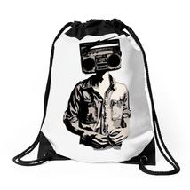 Stereo Head Drawstring Bags - $30.00