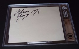 Adrian Young No Doubt Signed Autograph 5x7 Index Card Beckett Certified ... - $89.99