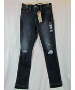NWT Levi's 311 Shaping Skinny Blue Denim Jeans 6 W28 L30 Mid Rise Tummy ... - $42.74