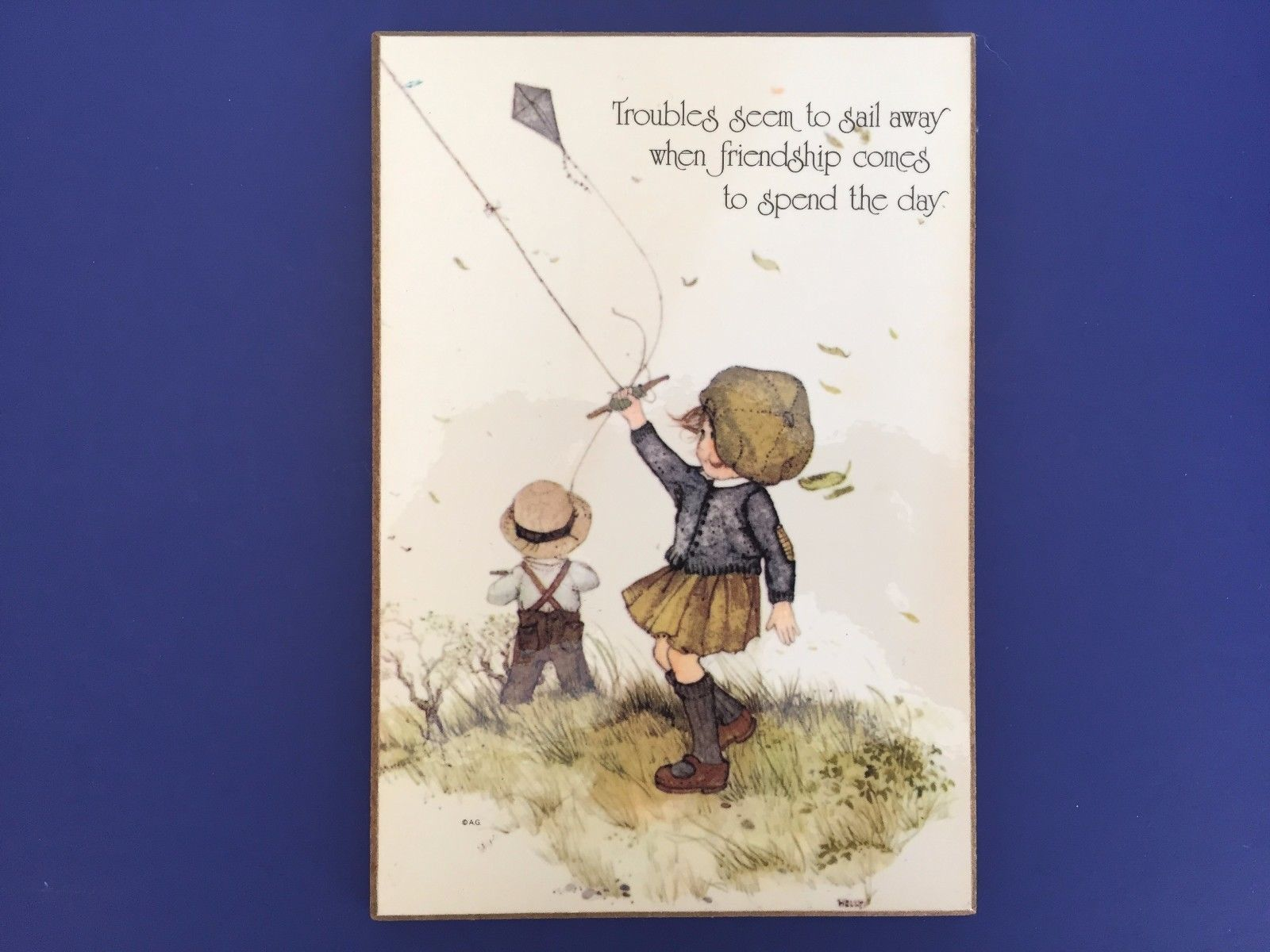 American greetings plaque 3 listings american greetings troubles seem to sail away wall hangingplaque 425 901 gbp kristyandbryce Choice Image