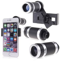 8X Zoom Telescope Optical Camera Lens with Universal Holder for Cellphon... - $20.29