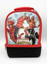 Thermos - Marvel SPIDER-MAN Insulated Dual Compartment Lunch Kit - New w... - $18.69