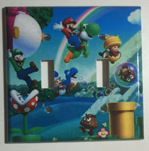 Super Mario Bro Light Switch Power Duplex Outlet Wall Plate Cover Home Decor image 3