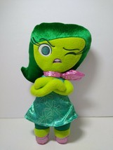 """Disney Pixar Inside Out Disgust 11"""" Character Plush with Velvet Hair - $12.86"""
