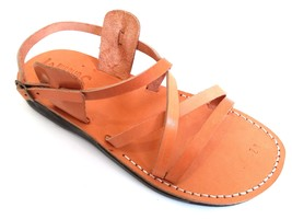 Leather Sandals for Men and Women LONDON by SANDALIM Biblical Greek Summ... - $39.83 CAD+