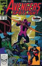 Avengers Spotlight #33 : Featuring Hawkeye and USAgent (Marvel Comics) [Paperbac - $3.91