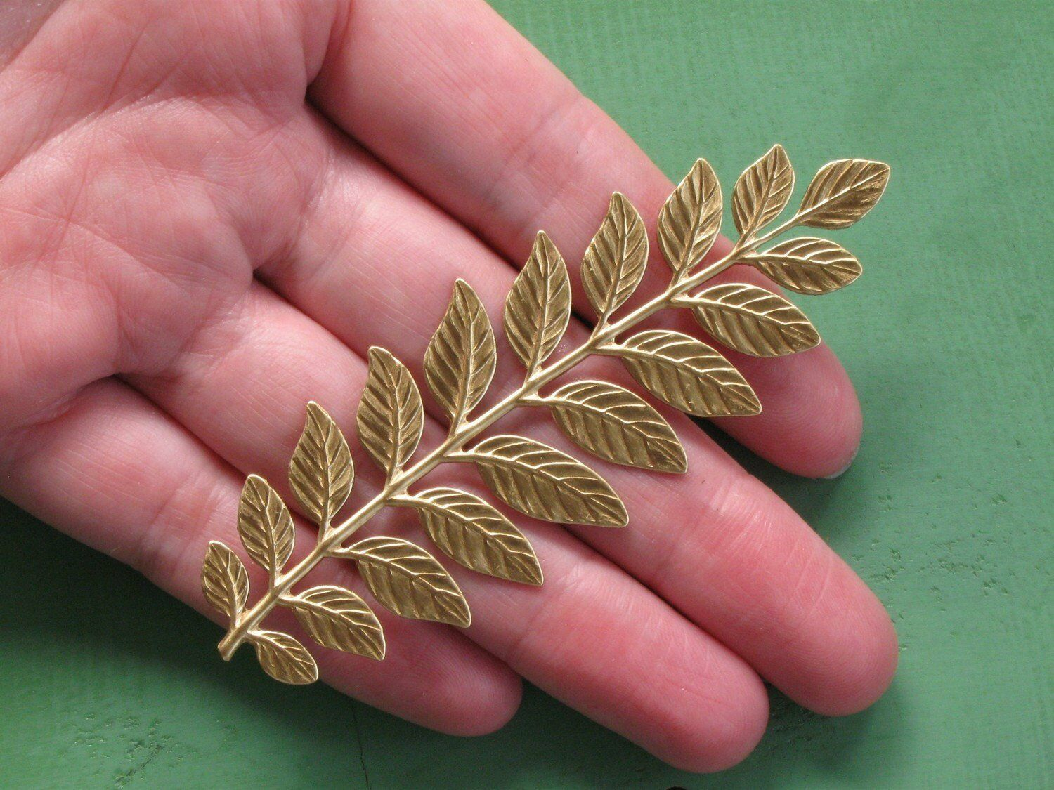 Primary image for Sugarcraft Mold Polymer Clay Molds Cake Decorating Tools Large Frond Leaf mold