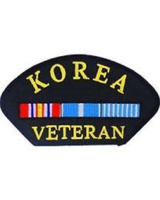 United States Korea Veteran Hat Patch