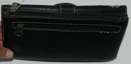 Montana West Collection MW689G 918 Medium Leather Like Black Conceal Carry Purse image 6