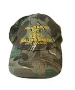 Sun Cap Camouflage Mesh Back Cap Adjustable Hollis & Sons Mobile Welding... - $10.87