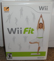 WII FIT  - 2008 Nintendo Wii Video Game Complete w/ Manual CIB - $1.11