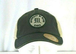 University Of Miami Hurricanes Green Baseball Cap Snapback - $31.99