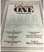 Continuous Line Quilting Patterns Collection One - Hari Walner  - $8.82