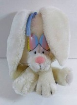 "7"" Vintage White GIGI Bunny RABBIT Applause 1982 Plush Stuffed Toy B239 - $11.99"