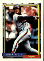 1992 Topps Baseball Card #189 Junior Felix - $0.98