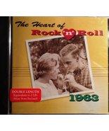 The Heart of Rock 'N' Roll 1963 [Audio CD] Mary Wells; Bobby Vinton; Rub... - $15.95
