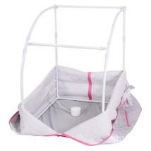 Portable 2L Steam Sauna with Chair-Silver - $108.10