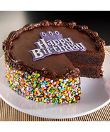Happy Birthday Chocolate Cake - $49.99