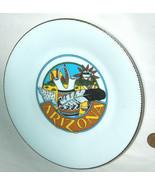 "Smith Southwestern SSI Arizona Feather Desert 7.5"" Plate Japan Signed D.... - $39.58"
