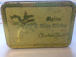 Vintage Tin from The Original Alpine Wine Sticks - $15.00
