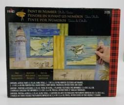 Plaid Paint by Number Studio Series 21725 Beachside 14x11 Open Box Paul ... - $39.48