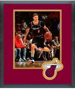 Tyler Johnson 2018-19 Miami Heat -11x14 Team Logo Matted/Framed Photo - $43.55