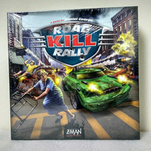 Road Kill Rally Board Game Z-man Games Death Race Daniel George New & Sealed - $16.99
