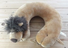 lion Neck Pillow U Shaped Cushion Support for Head Neck Headrest Travel ... - £10.20 GBP