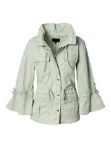 Banana Republic x Olivia Palermo Bell-Sleeve Surplus Jacket Cotton Size ... - $107.99
