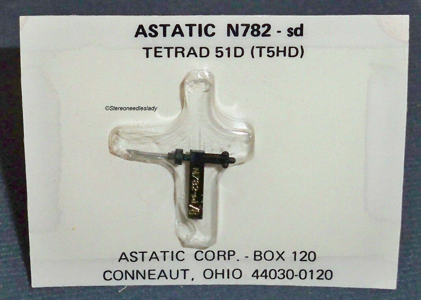 Tetrad 51D STEREO RECORD NEEDLE for Tetrad A1D Tetrad B1D Tetrad C1D M853-DS73