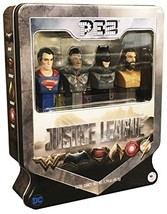 PEZ Candy Justice League Gift Set in Tin - Superman, Exclusive Cyborg, B... - $39.59