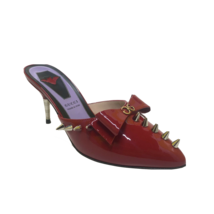 Gucci Studded Mules - Style: 551325 Size EU 37 / UK 4 / US 7 Red - $266.59