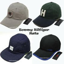 TOMMY HILFIGER NEW MEN'S BASEBALL CAP/HAT GRAY GREEN BLUE BLACK CAPS SUN... - $21.29+
